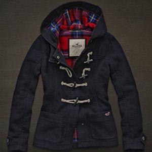 NWT Hollister HCO Classic wool Pea coat